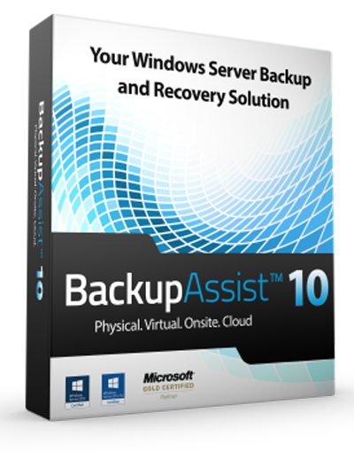 Backupassist-v10 copias de seguridad y recuperación para windows server